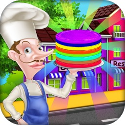 Rainbow Pancake Restaurant - Match & Stack it