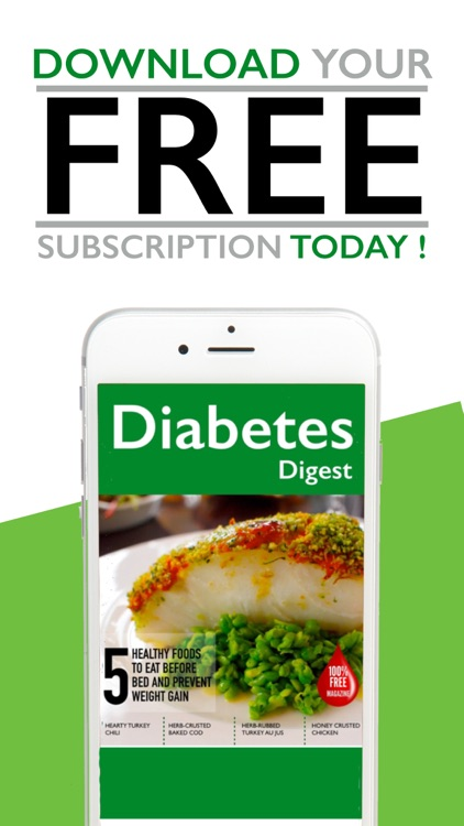 Diabetes Digest - Diabetic Mag screenshot-0