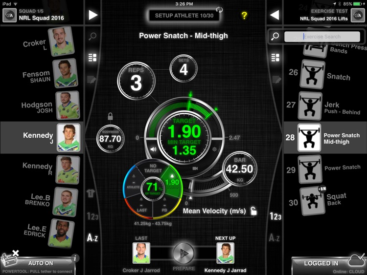 GymAware screenshot-1