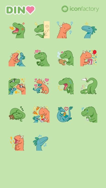 Iconfactory Dino Stickers
