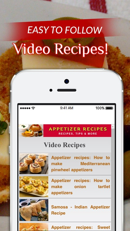Appetizer Recipes+ screenshot-3