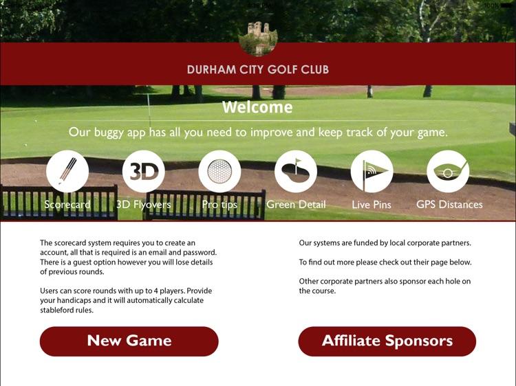 Durham City Golf Club Buggy By Whole In 1 Golf Ltd