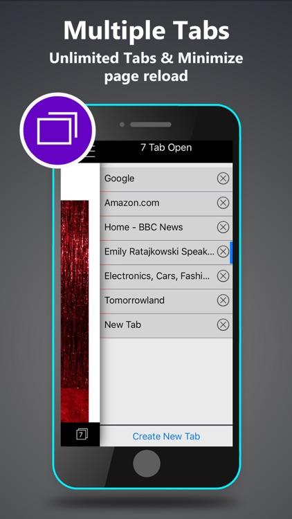 Private Browser with Fingerpirnt Password Applock screenshot-4