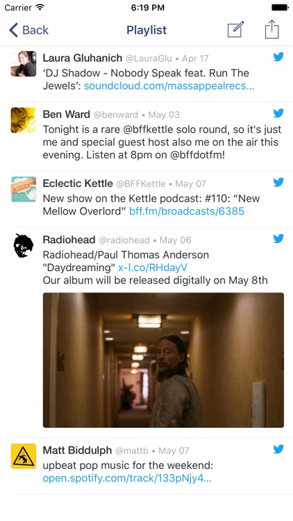 Charm for Twitter: Collect and curate Tweets screenshot-3