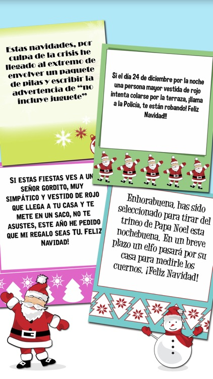 Christmas & New Year - Funny Messages in Spanish by Tramboliko Games