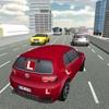 城市测试驾驶学校和停车场模拟器