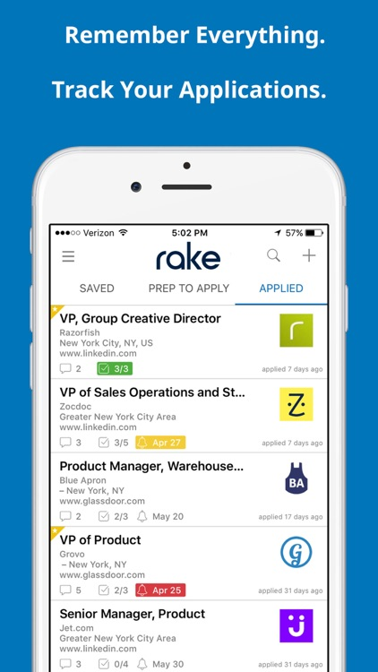 Rake - Job Search Simplified screenshot-4