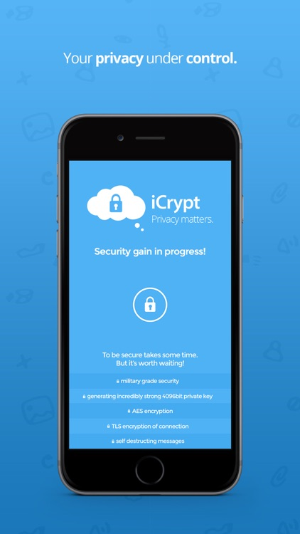 iCrypt - Privacy matters.