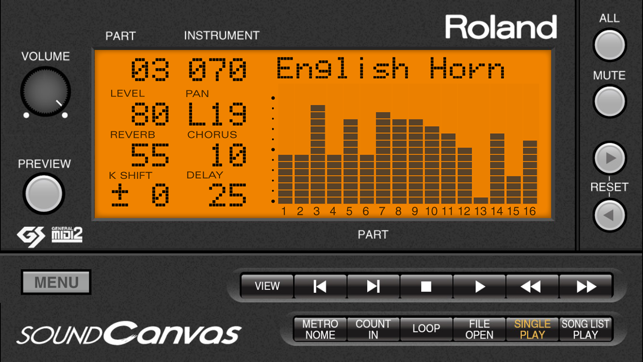 ‎SOUND Canvas Screenshot