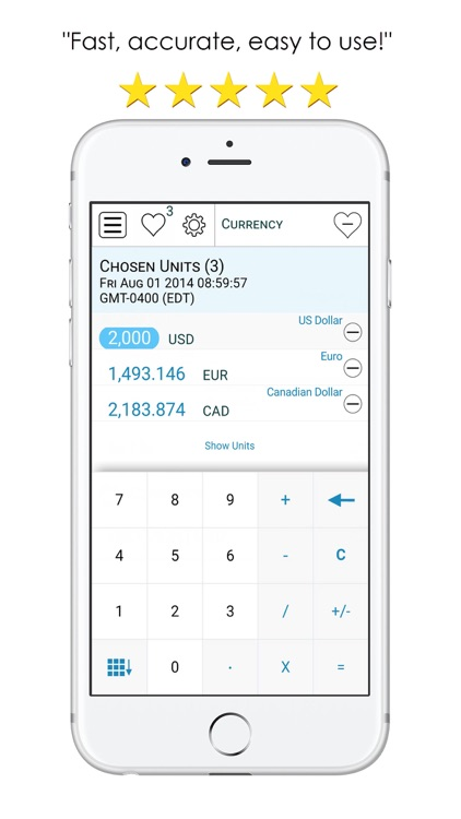 Equal=It-Best Unit converter and currency exchange screenshot-3