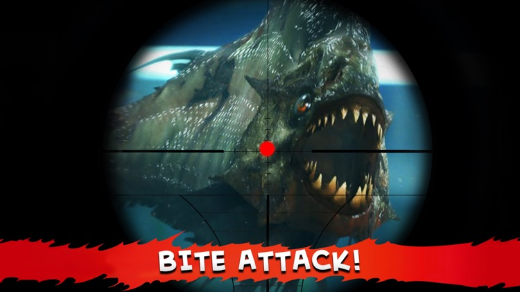 Hungry Piranha Hunting - Shark Spear-fishing world screenshot-1