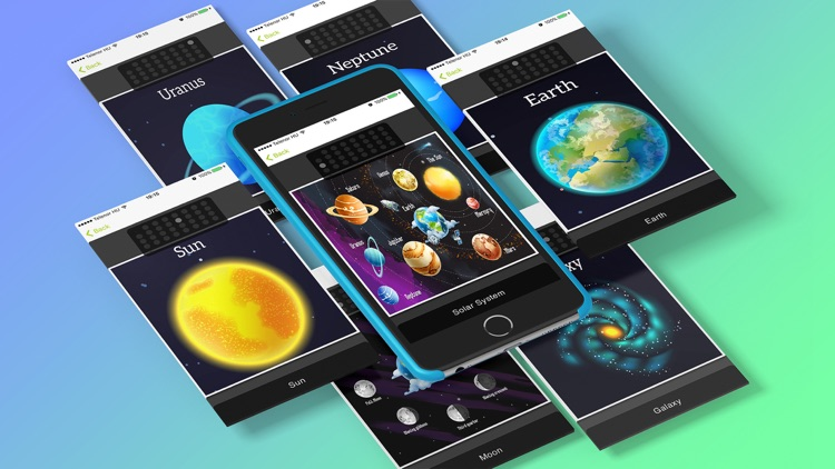 Milky Way! Solar System Planet Games For Kids Free by Miklos