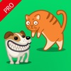 Cat Sounds Simulator Pro - Dog Barking Translator & Tail Talk Meow Voice Effects