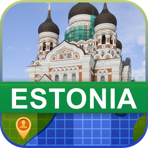 Offline Estonia Map - World Offline Maps