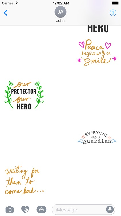 QUOTEs III Stickers for iMessage screenshot-3