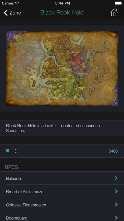 Pocket Wiki for WoW