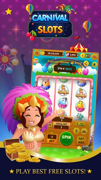 Slot Machines Carnival - FREE Vegas Casino screenshot-0