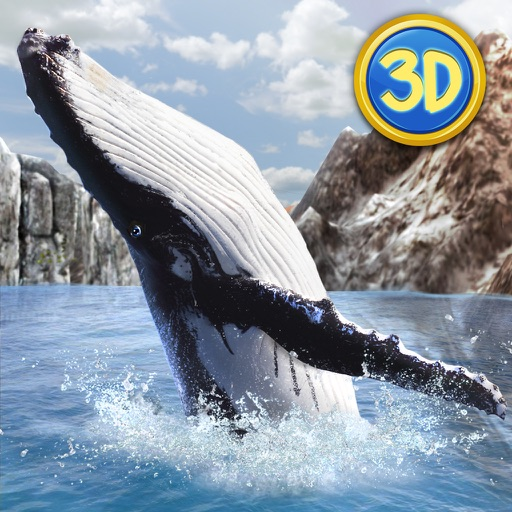 Ocean Whale Simulator: Animal Quest 3D