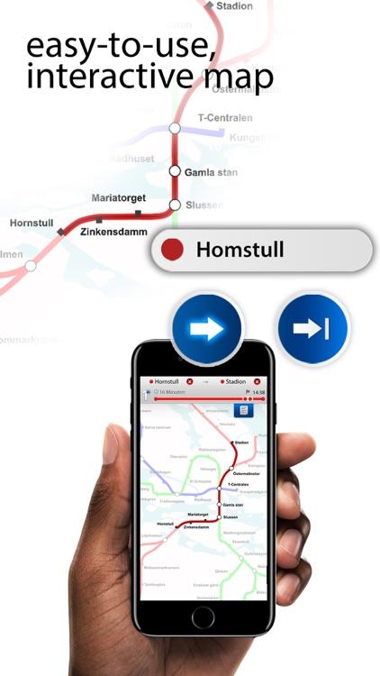 Stockholm Metro Maps