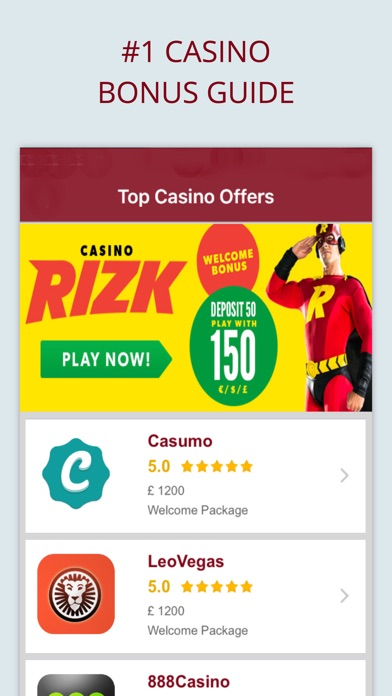 Mobile casino with free signup bonus