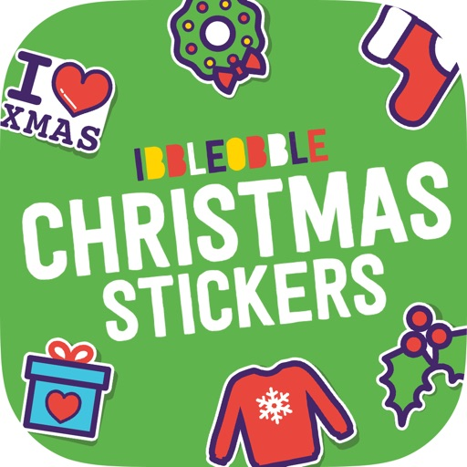 Ibbleobble Christmas Stickers icon