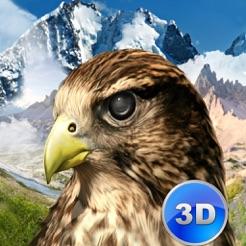 Wildfalke-Überlebens-Simulator 3D Full