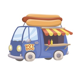 Stickers On The Go - Fast Food & Eating Stickers