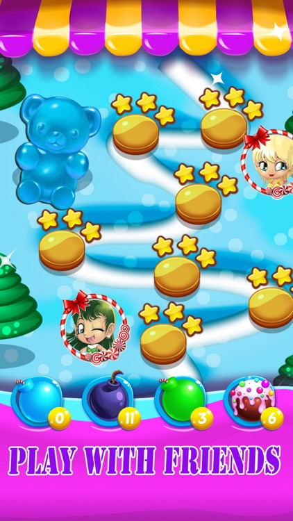 Candy Jelly Bears - For match 3 sweet bear puzzle screenshot-3