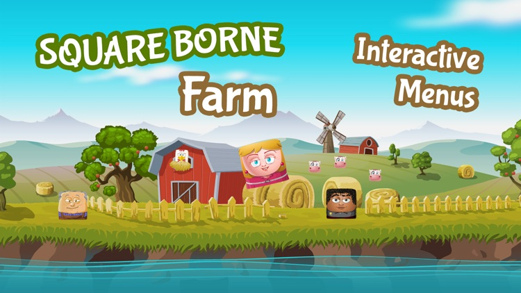 Square Borne Farm - Fun Physics for Everyone! screenshot-4
