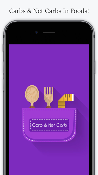 Carbs & Net Carbs In Foodsのおすすめ画像1