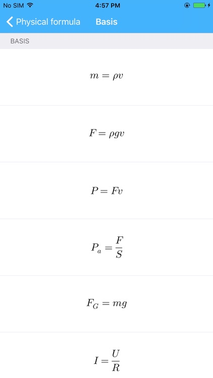 Physics Calculator-Physics Formulas Manual