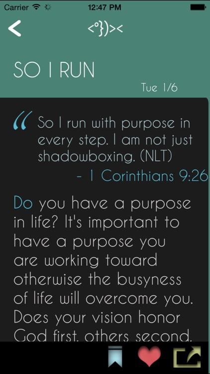 Daily Bible Devotion