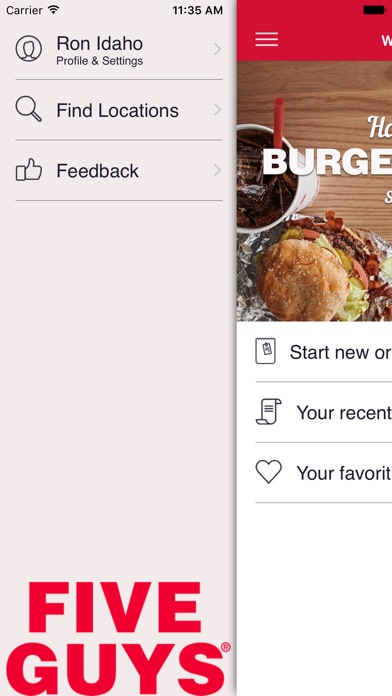 Five Guys Burgers Fries review screenshots