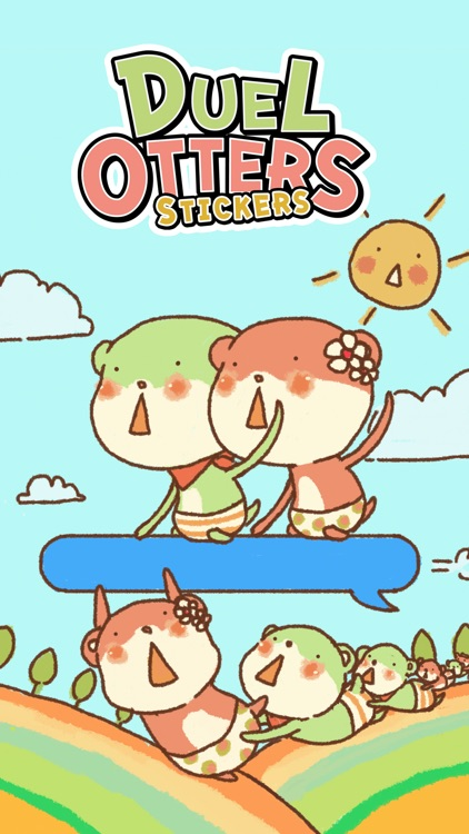 Duel Otters Stickers screenshot-0