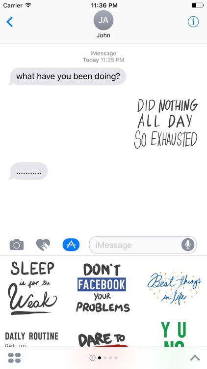 QUOTEs Stickers for iMessage