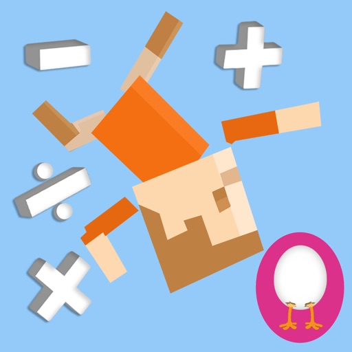 Flying Superstars : Fun Visual Math Game for Kids