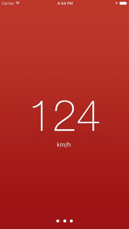 Speedometer - Minimal & Simple screenshot-3