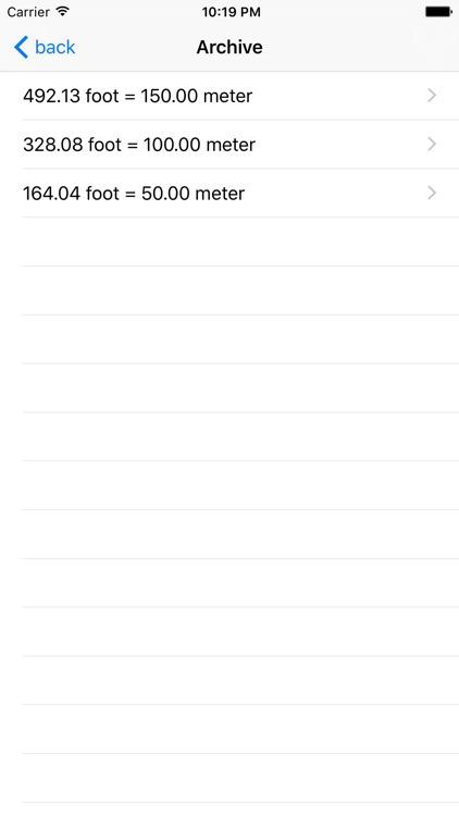 Foot Meter screenshot-3