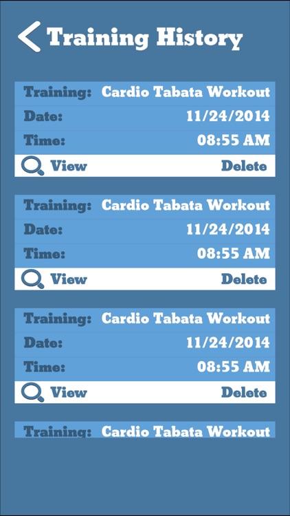 TimerFit No Ads:Tabata,HIIT,Workout Interval Timer screenshot-4