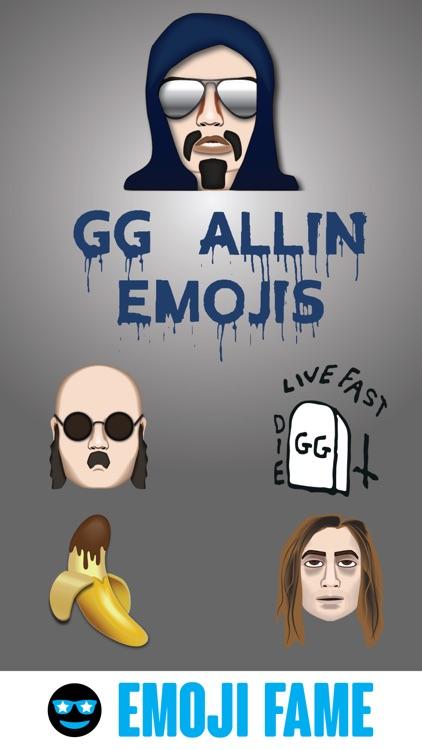 GG Allin by Emoji Fame