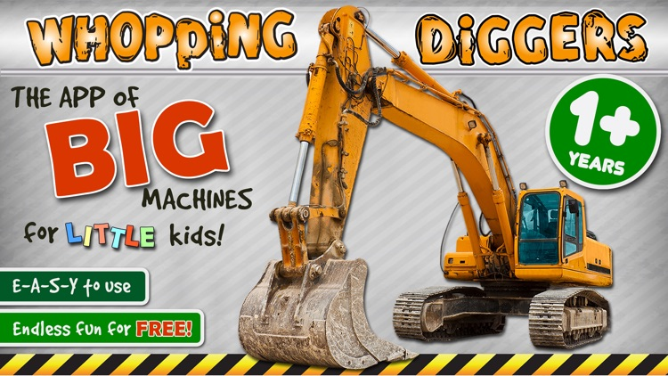 Diggers, Whopping Diggers! - Machine fun for kids screenshot-0