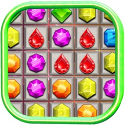 Jewel Mania Match 3 Kids Game