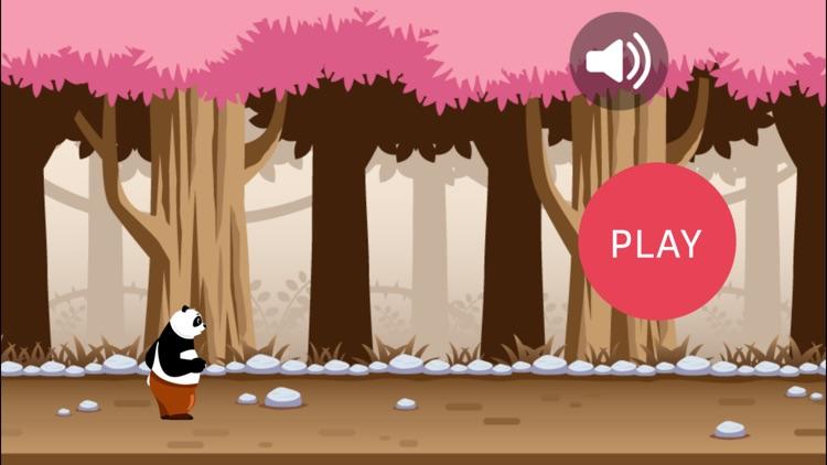 Panda Bear Run - Jungle Running Game