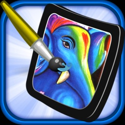 Coloring Sparkles and Painting for Kids Offline