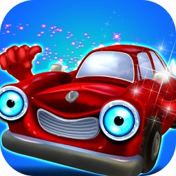 Designed Sports Car Wash Repair & Decoration Game
