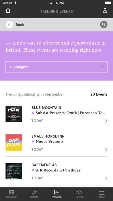 Headfirst Bristol — What's On Guide screenshot three