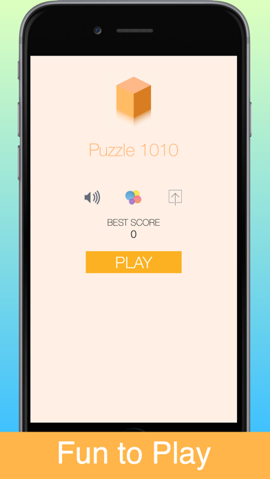 Puzzle Block game 10x10 plus tiles brain train fun