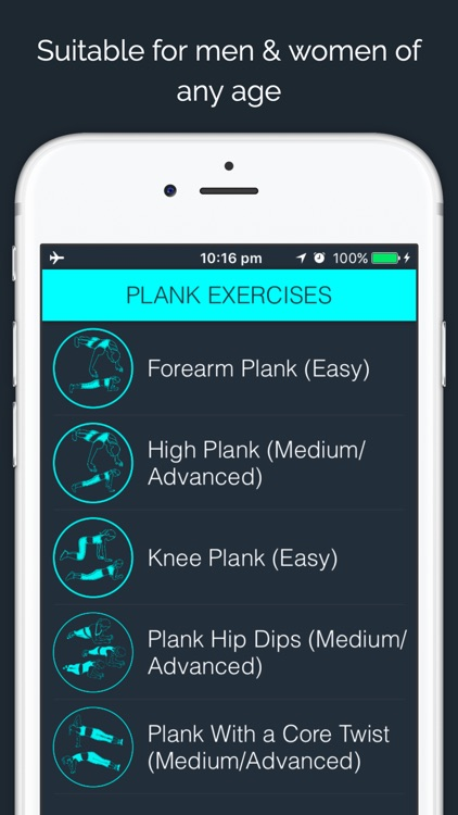 30 Day - Plank Challenge screenshot-3