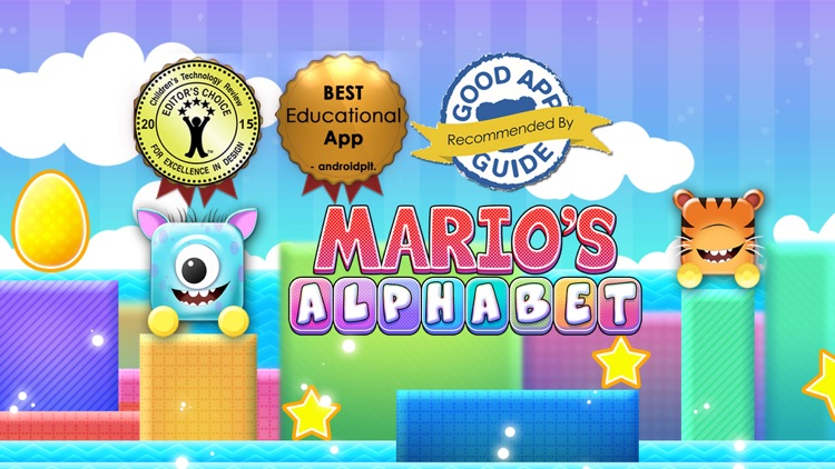 Learn to Read : Mario Alphabet Apps Phonetic ABCD screenshot-0