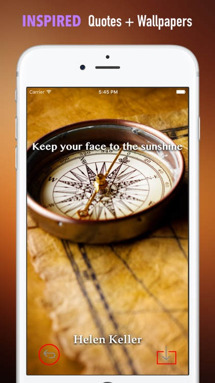 Compass Wallpapers HD: Quotes Backgrounds screenshot-4